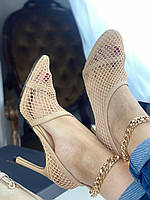 Текстильні туфлі The New Mesh BOTTEGA VENETA (репліка), фото 1