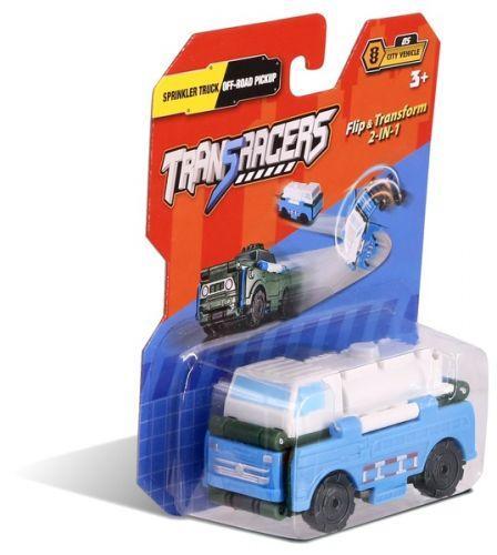 """Машинка трансформер 2 в 1 """"Trans Racers"""", автоцистерна позашляховик і пікап YW463875-13"""