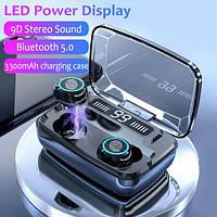 Беспроводные наушники M11 HD Stereo Heavy Bass TWS Wireless Bluetooth Headphone