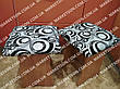 Чехлы на табуретки комплект 4 шт на резинке (сидушка на табурет, стул) №11, фото 6