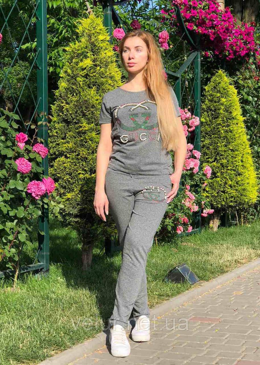 Женский летний спортивный костюм (Турция); разм С,М,Л,ХЛ