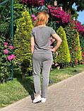 Жіночий літній спортивний костюм (Туреччина); розмір С,М,Л,ХЛ, фото 2