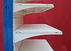 Односторонній (пристінний) стелаж «Колумб» 200х132 див., (Україна), на 6 полиць, Б/в, фото 9