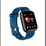 Фитнес браслет  Smart Band ID 116 Синий Фитнес трекер Часы, фото 3