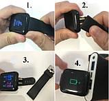 Фитнес браслет  Smart Band ID 116 Синий Фитнес трекер Часы, фото 8