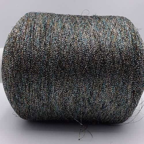 Люрекс на вискозе MULTICOLOR 70% вискоза 30% люрекс - бобинная пряжа для машинного и ручного вязания