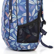 Рюкзак школьный для девочки синий 540, фото 3