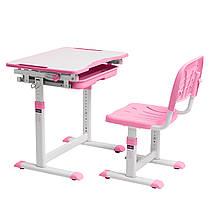Зростаюча дитяча парта зі стільчиком Cubby Sorpresa Pink, фото 2