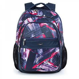 Школьный рюкзак с плотной спинкой Украина 523