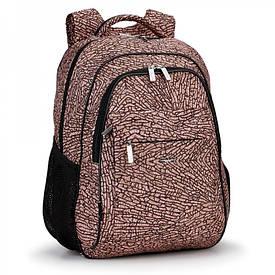 Школьный рюкзак с плотной спинкой Украина 539