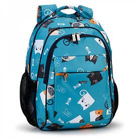 Школьный рюкзак с плотной спинкой Украина 538
