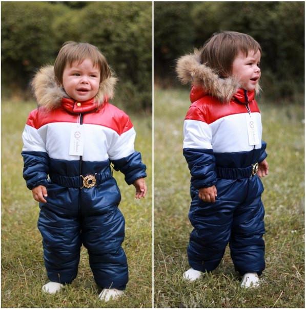 ebacd174d7f Комбинезон детский зимний с мехом 6873  Интернет-магазин модной ...