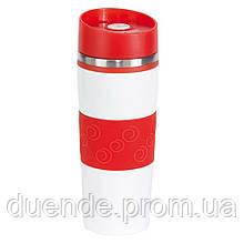 Термочашка Arabicа 400 мл, Лайм / su 9030414 Красный