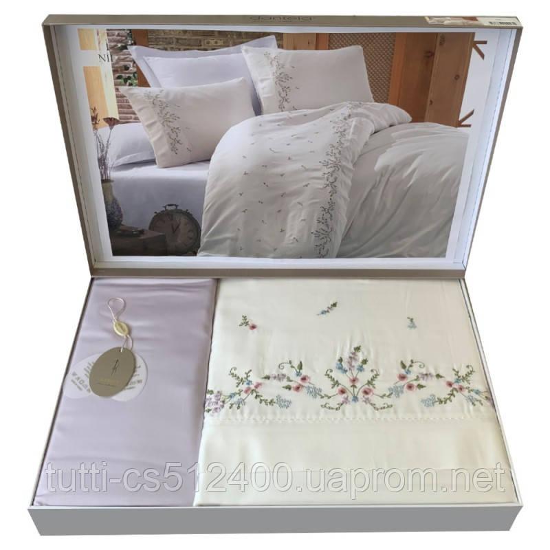 Купить Постельное белье сатин с вышивкой Dantela Vita NIL
