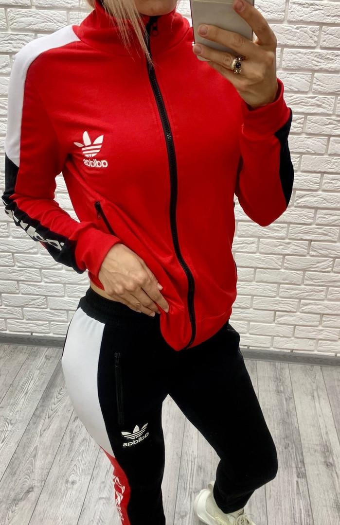 Женский спортивный костюм из двунитки 47-2349-1