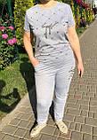 Жіночий літній спортивний костюм (Туреччина); розмір С,М,Л,ХЛ, фото 5