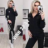 Женский спортивный костюм из двунитки 47-2350, фото 2