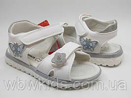 Босоніжки Clibee білі  T15 для дівчинки 26