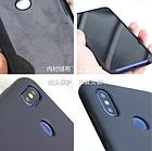 Силиконовый чехол Liquid Case Xiaomi Redmi Note 8 Темно-синий, фото 3