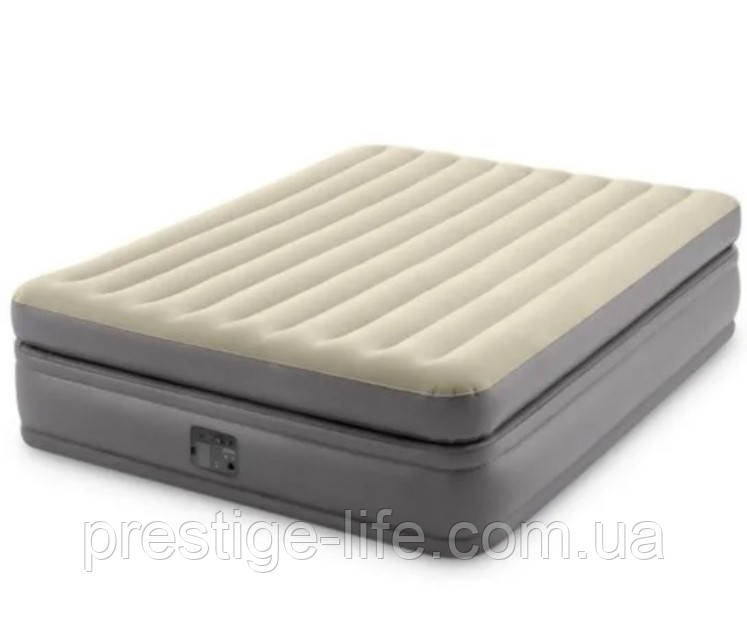 Надувне ліжко з вбудованим електронасосом Intex 64164 (203*152*51 см)