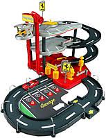 Игровой набор Bburago - Гараж Ferrari (3 уровня, 2 машинки 1:43)