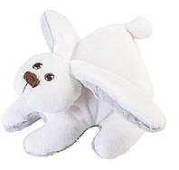 Мягкая игрушка Зайчик Снежок (маленький) Тигрес ЗА-0046