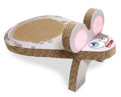 Когтеточка CROCI Мышка, гофрированный картон, 25x45x20 см (цена за 1шт)