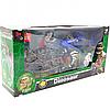 Игровой набор охотник за динозаврами, звук, движение (2121-25P)