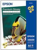 Бумага Epson A4 Premium Glossy Photo Paper, 50л.