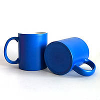 Чашка для сублимации неоновая (Голубой)