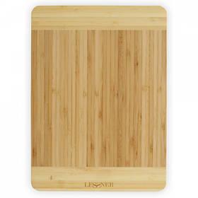 Доска кухонная бамбуковая прямоугольная 34 х 24 х 1,8 см Lessner 10300-34