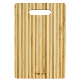 Доска кухонная Vincent прямоугольная бамбук 28 х 18 х 0,8 см 2101-28 VC