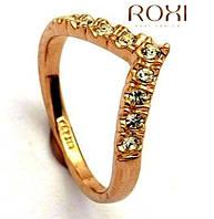 Кольцо Адель Roxi brand, покр.18К, камни Сваровски