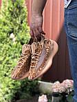 Чоловічі кросівки Adidas Yeezy Boost 380 (коричневі) 9514, фото 2