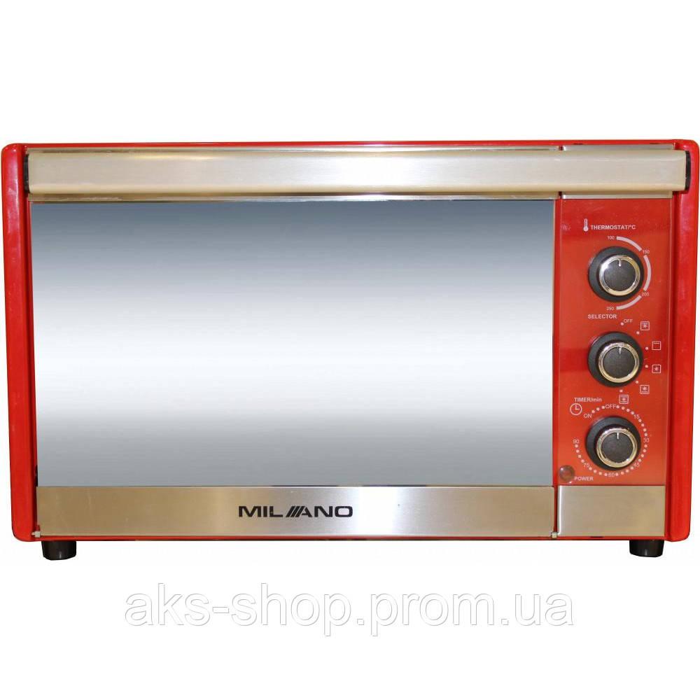 Духовка настольная MILANO MO-36 Red объем духовки 36л