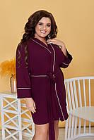 "Платье-халат для пышных дам дам   ""Гейша""  Dress Code, фото 1"