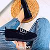 Черные замшевые туфли 38 размер