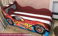 Кровать машина Тачки ШОК комплект со встроенным матрасом 9 моделей