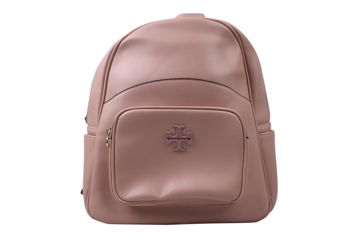 Сумка-рюкзак жіночий молодіжний еко-шкіра, колір рожевий