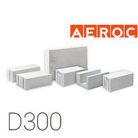Газобетон Аэрок D300, 300x200x600 мм, Обухов