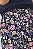 Удобные брюки для беременных в цветочек, размеры от 44 до 50, фото 6
