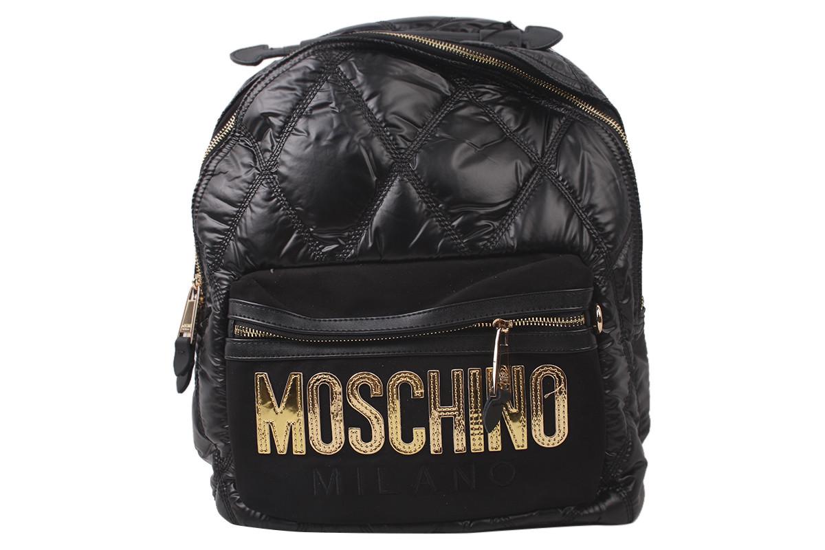 Сумка-рюкзак женская молодежная эко-кожа, цвет черный