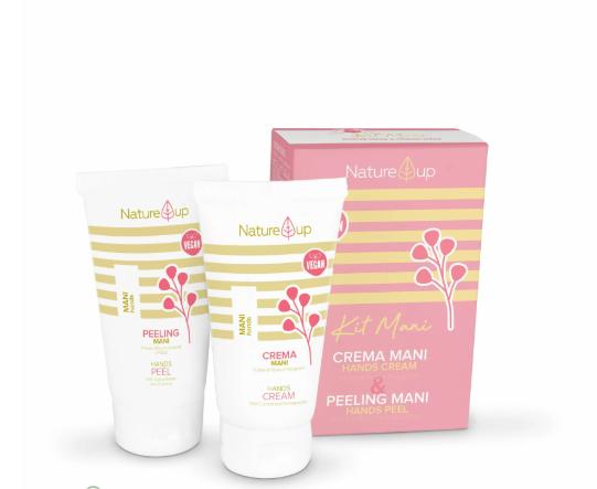 Набор для рук Nature UP  Bema Cosmetici : крем для рук+пилинг .150 мл