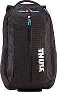 Рюкзак з відділенням для ноутбука Thule Crossover 25л Backpack Black (чорний), фото 2
