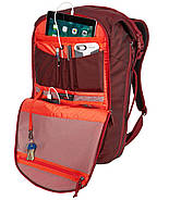 Рюкзак с отделением для ноутбука Thule Subterra Travel Backpack 34L Ember (бордовый), фото 7