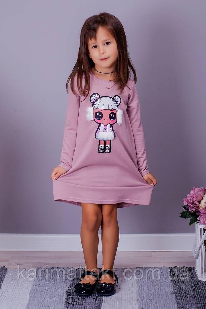 Платье на девочку LOL