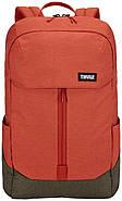 Рюкзак з відділенням для ноутбука Thule Lithos 20л Backpack Rooibos/Forest Night (червоний/сірий), фото 2