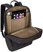 Рюкзак з відділенням для ноутбука Thule Lithos 20л Backpack Rooibos/Forest Night (червоний/сірий), фото 4