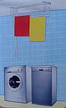 Сушилка для белья настенно-потолочная «Флорис 2 м», фото 6