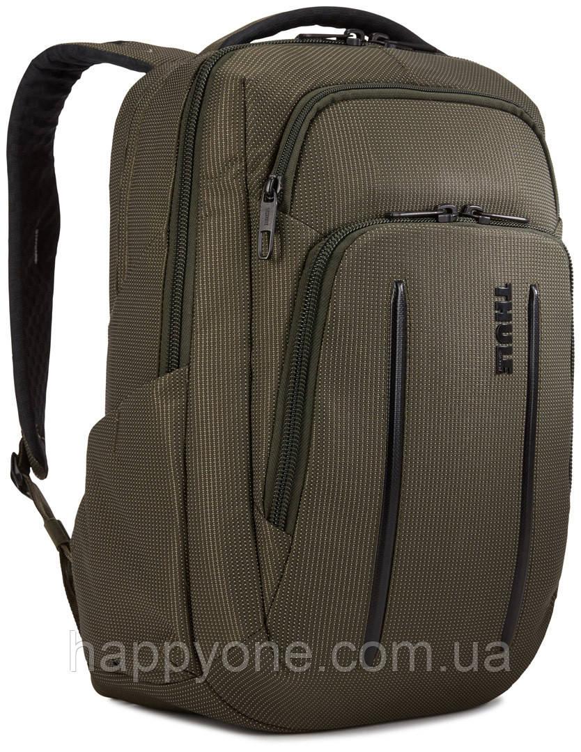 Рюкзак с отделением для ноутбука Thule Crossover 2 Backpack 20л Forest Night (хаки)